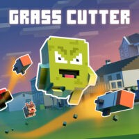 Action, arcade, Evgeniy Kolpakov, Grass Cutter – Mutated Lawns, Grass Cutter – Mutated Lawns Review, Music, Nintendo Switch Review, Platformer, Puzzle, Rating 6/10, Sometimes You, Switch Review