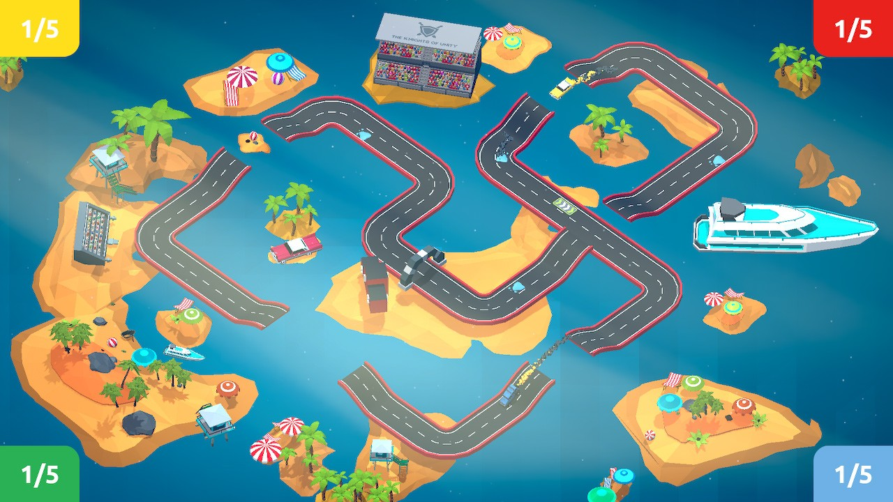 All In Games, arcade, Automobile, Little Racer, Little Racer Review, Nintendo Switch Review, party, Racing, Sports, Switch Review
