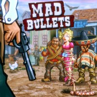 Action, arcade, casual, first-person, indie, Istom Games, Mad Bullets, Mad Bullets Review, multiplayer, Nintendo Switch Review, On-Rails Shooter, Switch Review