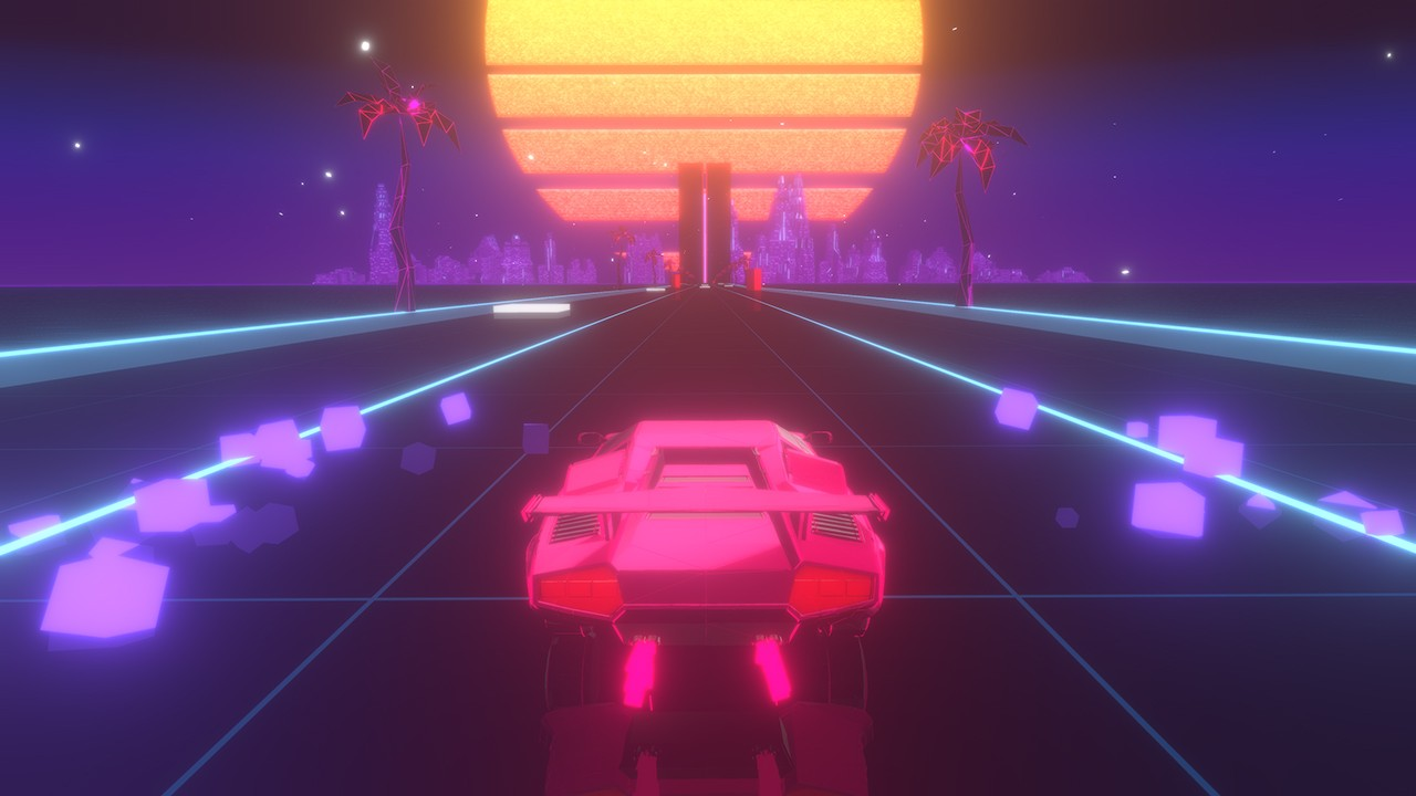 AbstractArt, Action, arcade, casual, Futuristic, indie, Music, Music Racer, Music Racer Review, party, PS4, PS4 Review, Racing, Rating 7/10, retro, Rhythm, Sometimes You