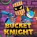 2D, Action, adventure, arcade, Bucket Knight, Bucket Knight Review, indie, PigeonDev, Pixel Graphics, Platformer, PS4, PS4 Review, Rating 5/10, Sometimes You