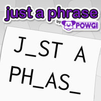 board game, Brain Training, casual, Education, Just a Phrase by POWGI, Just a Phrase by POWGI Review, Lightwood Games, Logic, PS4, PS4 Review, Puzzle, Rating 5/10, strategy