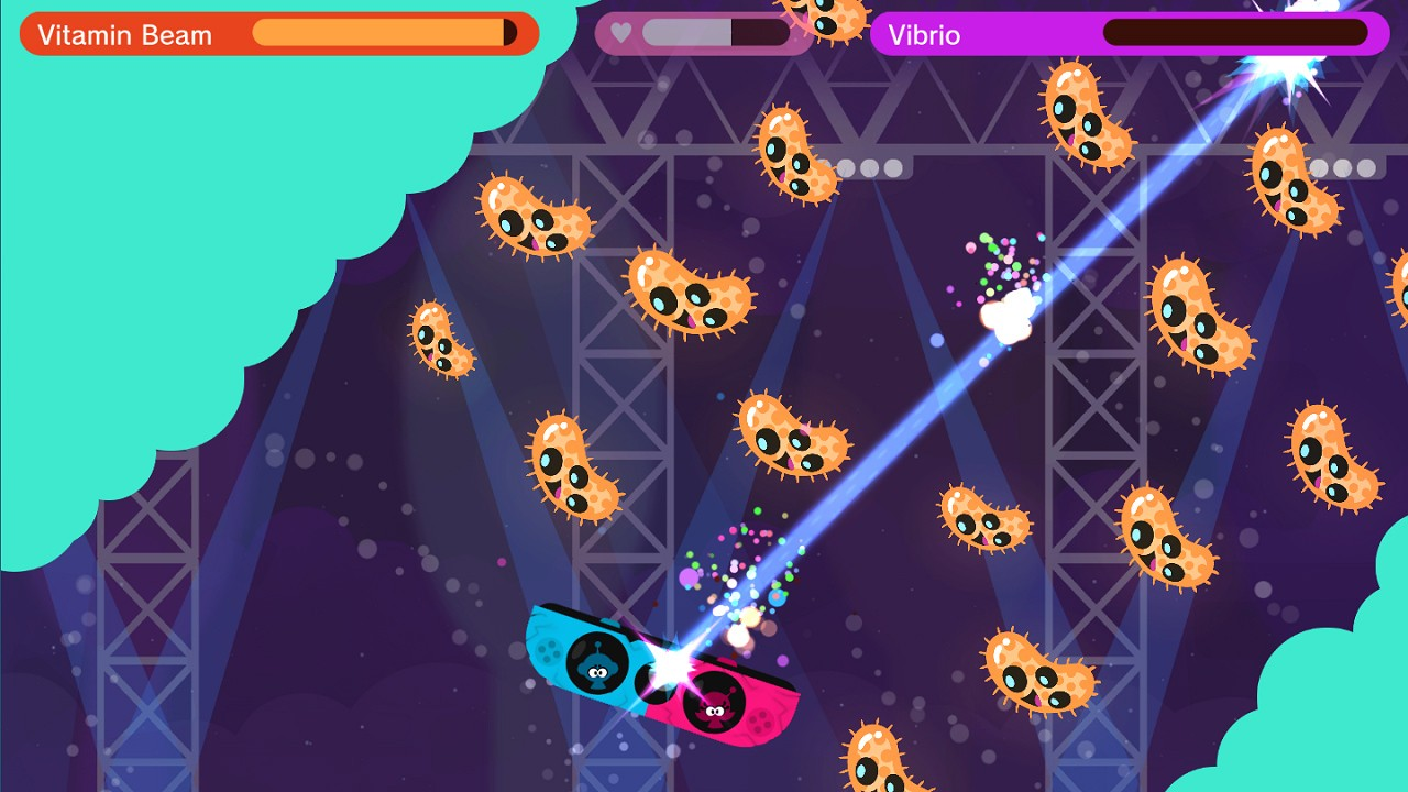 Action, Action & Adventure, adventure, co-op, Limited Run Games, Rating 9/10, Shooter, Vitamin Connection, Vitamin Connection Review, WayForward Technologies