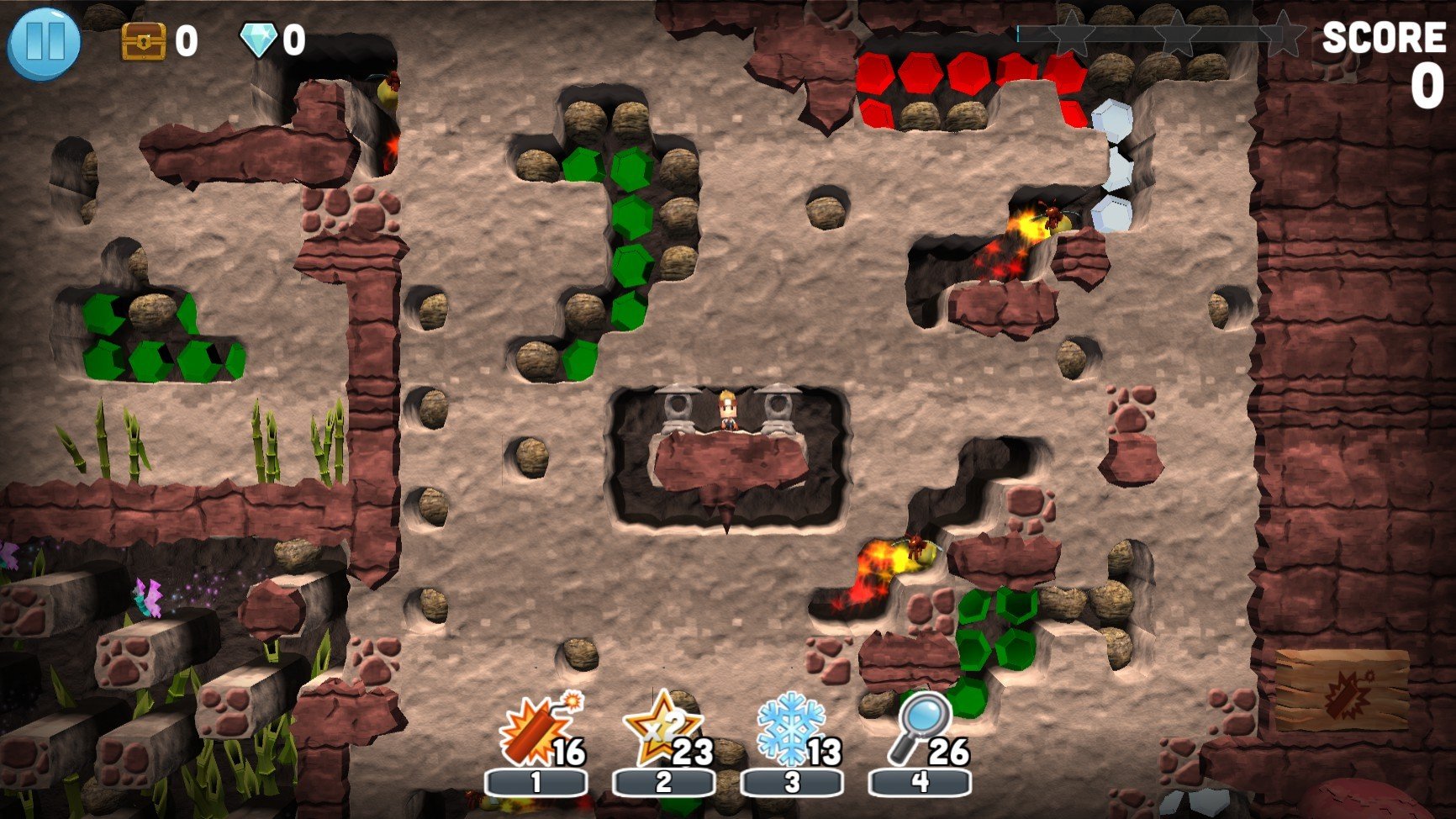 Action, adventure, arcade, BBG Entertainment, Boulder Dash, Boulder Dash 30th Anniversary, Boulder Dash 30th Anniversary Review, casual, indie, Nintendo Switch Review, Puzzle, Rating 5/10, Switch Review, Tapstar Interactive