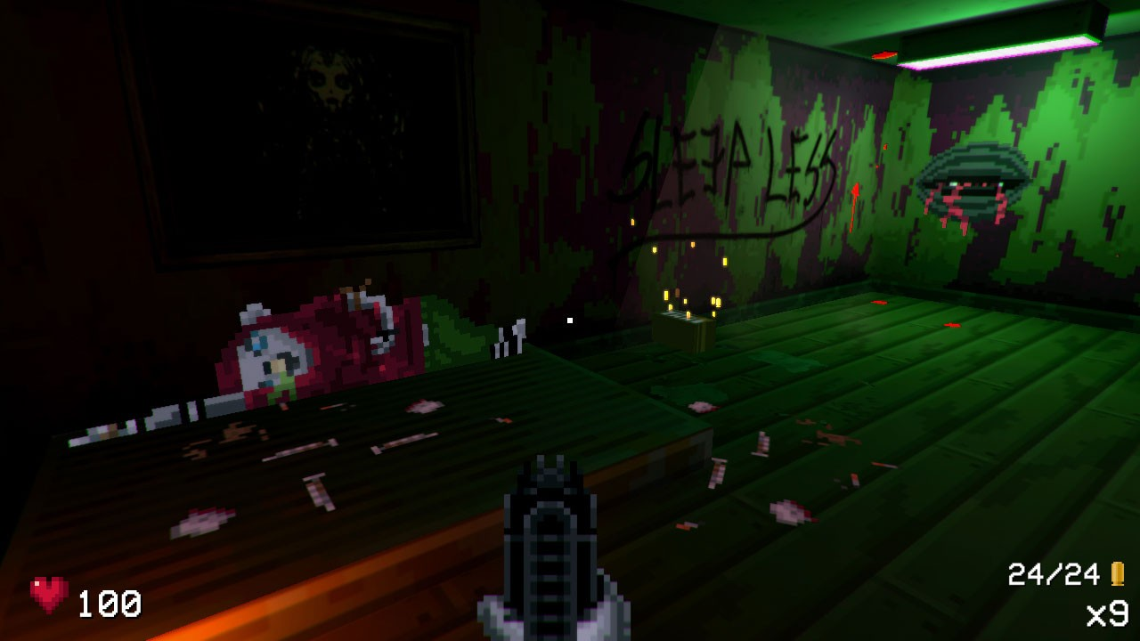 Action, adventure, arcade, Doomster Entertainment, First Person Shooter, first-person, FPS, indie, Nintendo Switch Review, Pixel Graphics, Shooter, Switch Review, This Strange Realm Of Mine, This Strange Realm of Mine Review