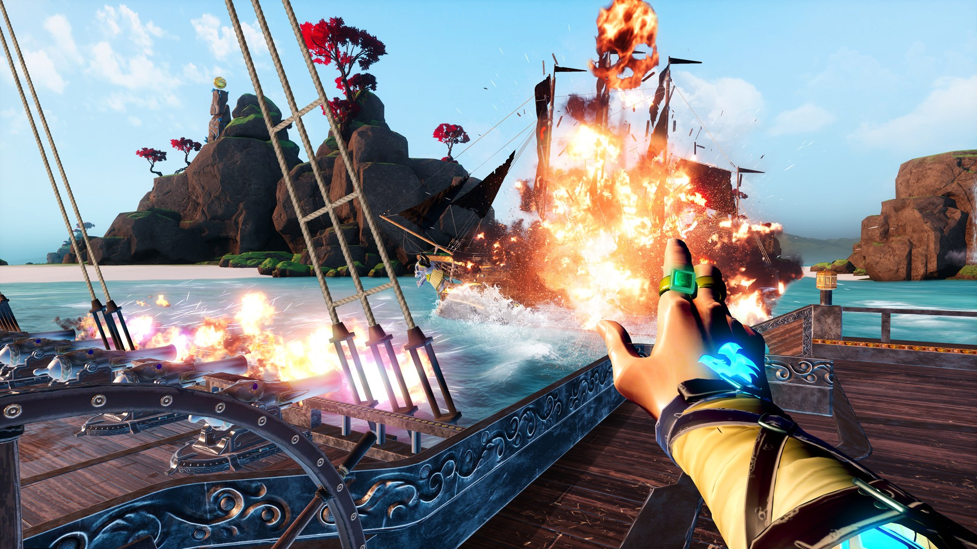Action, adventure, Battlewake, Battlewake Review, casual, Combat, indie, Marine, PlayStation VR, PS4, PS4 Review, PSVR, PSVR Review, Shooter, simulation, strategy, Survios