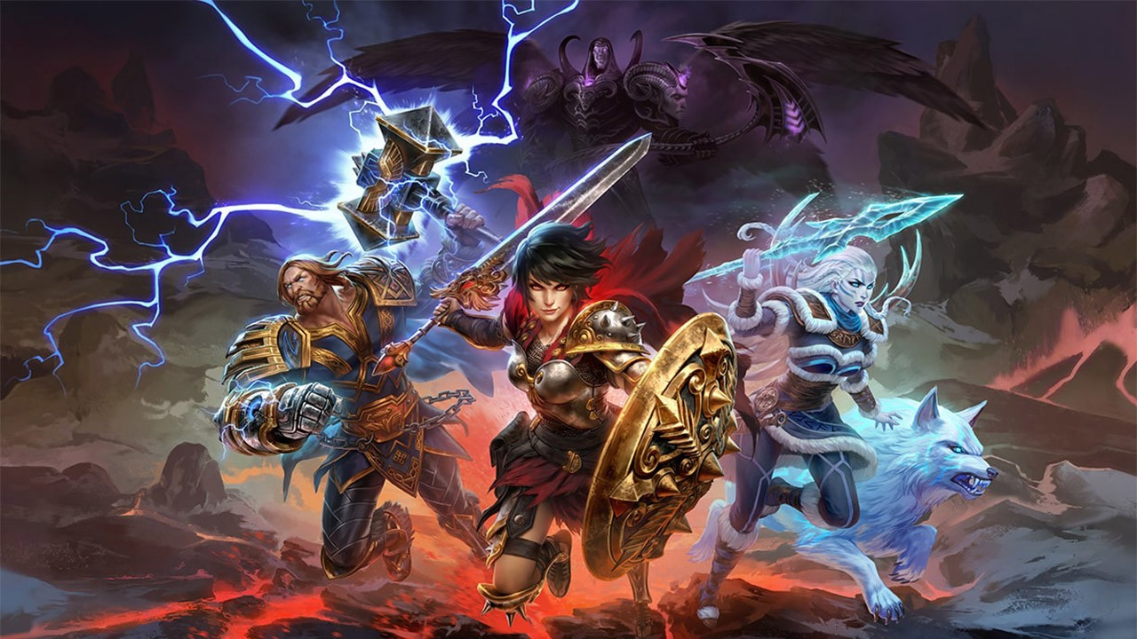 Action, adventure, Free-to-play, Hi-Rez Studios, MOBA, multiplayer, Nintendo Switch Review, PvP, SMITE, SMITE Review, strategy, Switch Review, Titan Forge Games