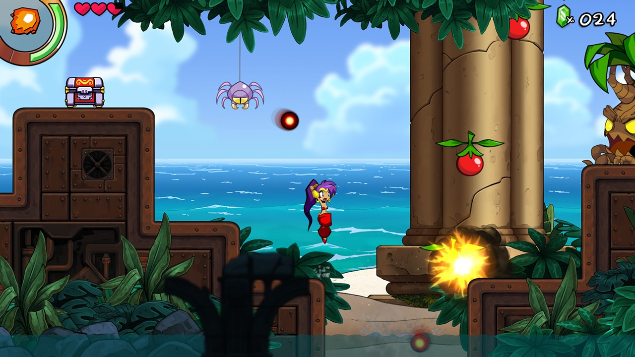 2D, Action, adventure, Nintendo Switch Review, Platformer, Rating 10/10, Shantae and the Seven Sirens, Shantae and the Seven Sirens Review, Switch Review, WayForward Technologies