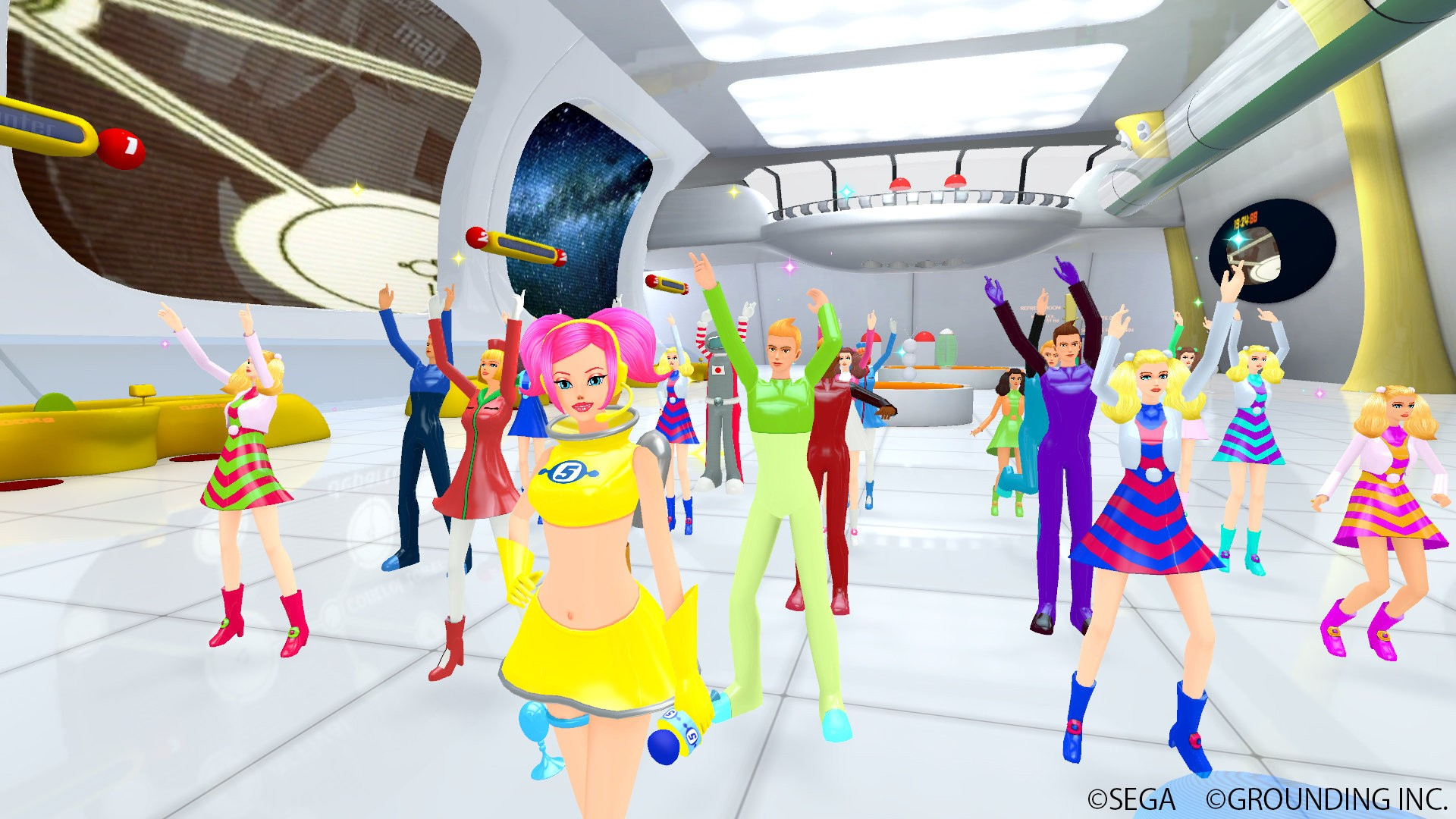 Action, dancing, Great Soundtrack, Grounding Inc, Music, PlayStation VR, PS4, PS4 Review, PSVR, PSVR Review, Rhythm, SEGA, Space Channel 5 VR, Space Channel 5 VR Review