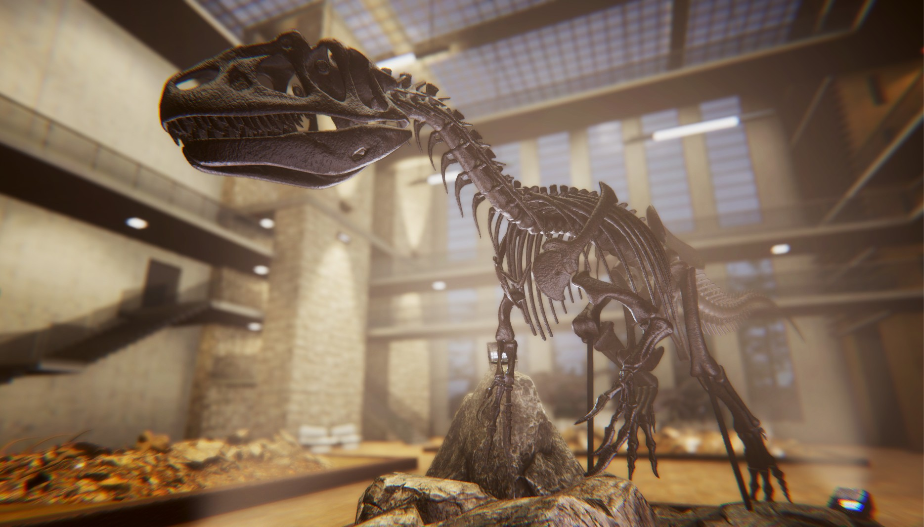 Action, adventure, Dinosaur Fossil Hunter, Dinosaur Fossil Hunter Review, Dinosaurs, exploration, indie, PC, PC Review, PlayWay S.A., Pyramid Games, Rating 5/10, simulation