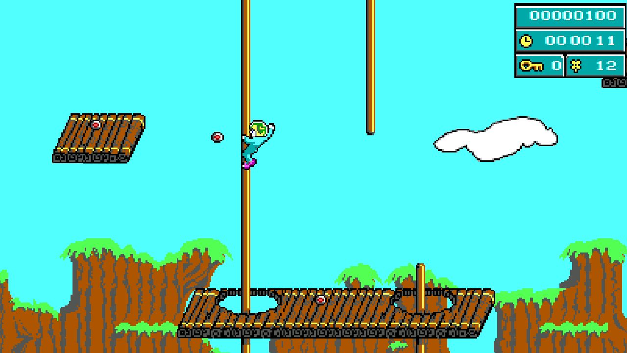 2D, Action, adventure, arcade, Commander Keen in Keen Dreams: Definitive Edition, Commander Keen in Keen Dreams: Definitive Edition Review, Diplodocus Games, Lone Wolf Games, Nintendo Switch Review, Platformer, Rating 8/10, Switch Review